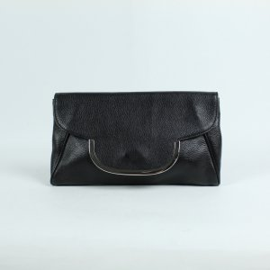 Coccinelle Crossbody bag black-silver-colored leather