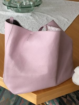 Coccinelle Pouch Bag light pink-pink leather