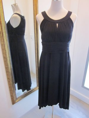 Cocktail Abend Kleid schwarz Gr 40/42