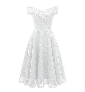 & other stories Vestido de baile blanco