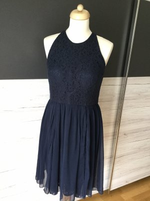 Ashley Brooke Cocktail Dress dark blue
