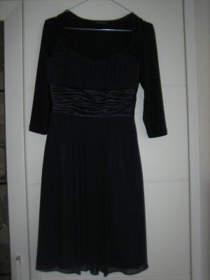 Cocktail-Kleid in dkl.blau