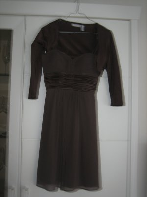 Cocktail-Kleid in mocca