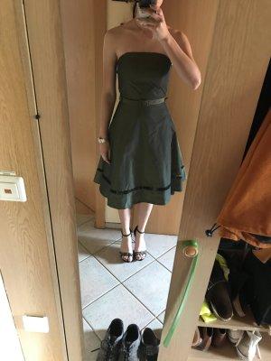 Cocktail Kleid mesh grün