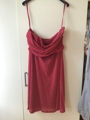 Cocktail Kleid mit Pailettenaufsatz