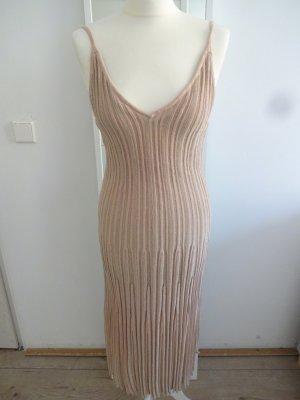 cocktail Kleid plissiert glitzer