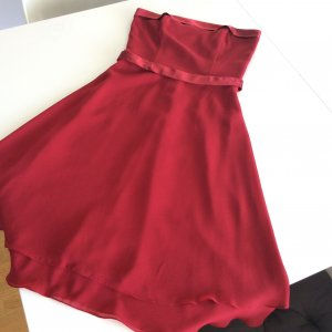 Cocktail Kleid weinrot