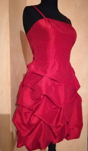 Cocktail Mini Kleid Rot Festlich