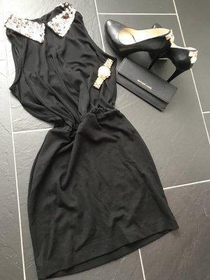 Bodyflirt Mini-jurk zwart-roségoud