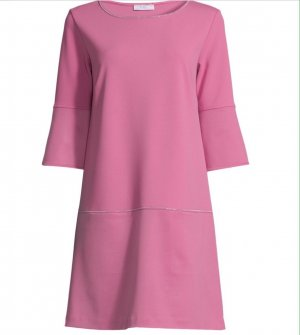 Nice Connection Vestido de cóctel rosa empolvado