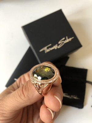 Thomas Sabo Bague en or multicolore or