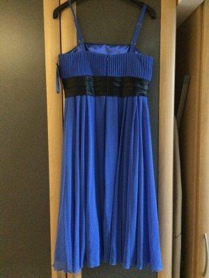 Heine Vestido bustier azul