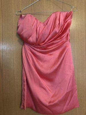 Laona Vestido de cóctel salmón-rojo claro