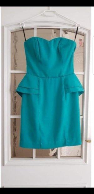 H&M Vestido de chifón azul claro-azul bebé