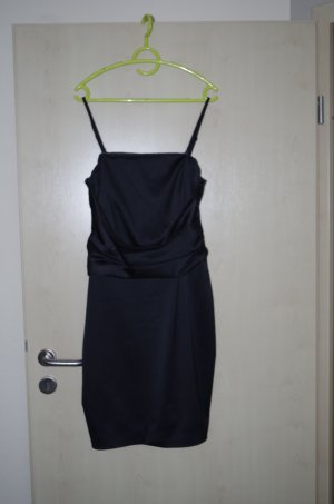 F&F Corsage Dress black polyester