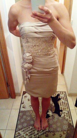 Midi Dress cream-nude