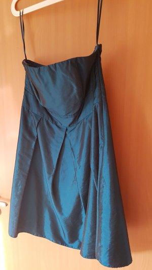 Laura Scott Off-The-Shoulder Dress petrol
