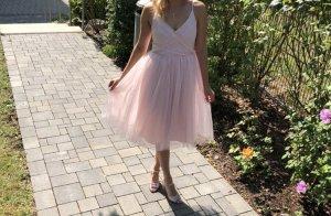 Lucy wang Abito da ballo rosa antico-rosa pallido