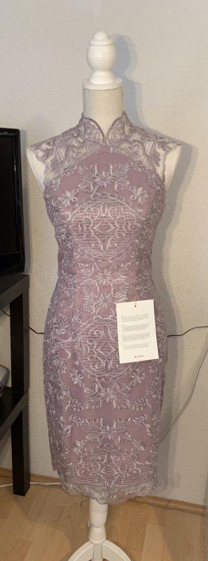 CocktailKleid Abendkleid Ballkleid mit Stehkragen