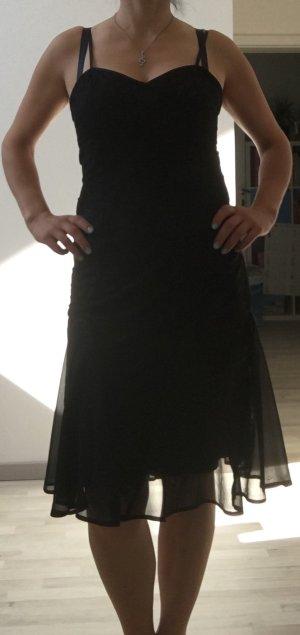 Cocktailkleid Abendkleid in schwarz mit Spitze