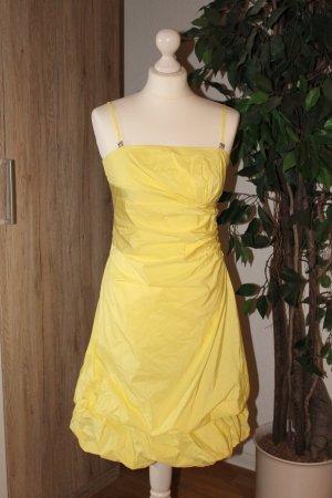 Cocktailkleid Abendkleid Kleid Ballkleid Vera Mont Taft gelb