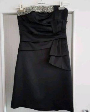 Cocktailkleid / Abendkleid kurz schwarz Gr. M