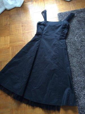 Cocktailkleid Abendkleid kurz schwarz Swing Größe 38