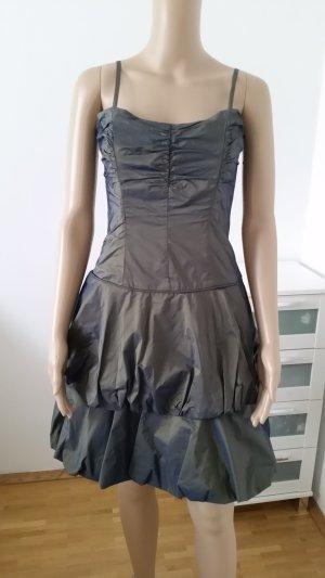 Cocktailkleid Abendkleid metallic look, Größe 36, Vera Mont