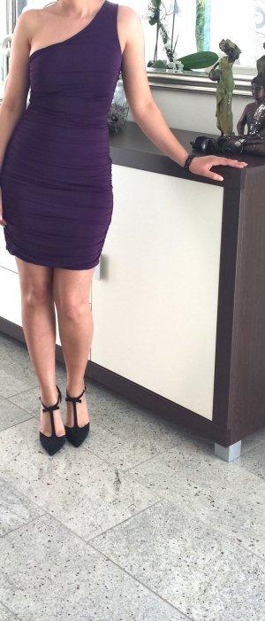 H&M Robe chiffon violet foncé