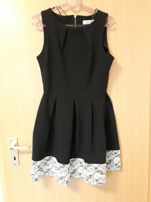 Closet Cocktail Dress black-white polyester