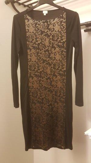 Alba Moda Evening Dress black-gold-colored