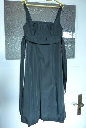 Cocktailkleid aus Taft, schwarz