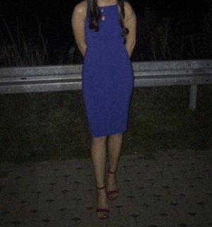 H&M Cocktailjurk blauw