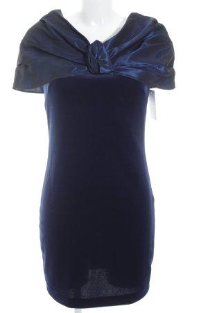 Cocktailkleid blauviolett klassischer Stil