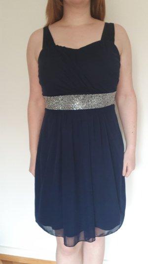 b.p.c. Bonprix Collection Vestido de cóctel azul oscuro