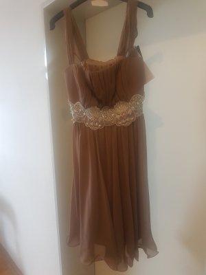 Ashley Brooke Cocktail Dress beige