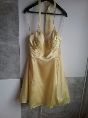 Ashley Brooke Robe de cocktail jaune clair