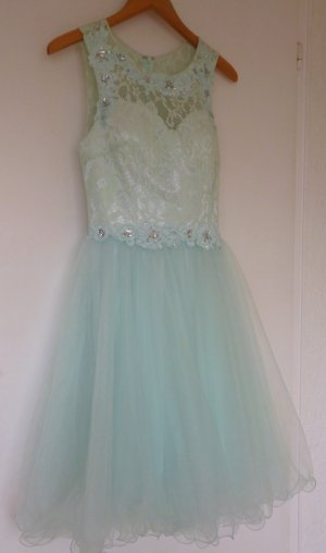 Cocktailkleid in pastell mint