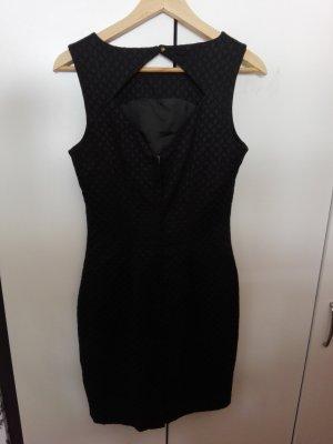 Cocktailkleid in schwarz Größe M mit eleganten Rückenausschnitt