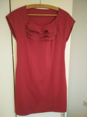 Anna Field Jersey Dress red mixture fibre