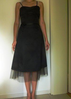 Cocktailkleid knieumspielend schwarz