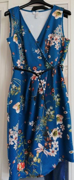 b.p.c. Bonprix Collection Robe de cocktail bleu pétrole