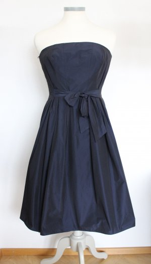 Cocktailkleid nachtblau glänzend