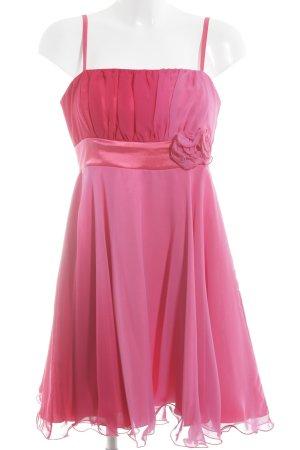 Cocktailkleid pink-magenta Elegant