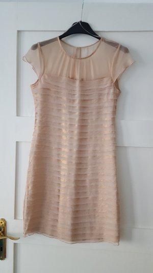 Cocktailkleid - rosé /nude - zart und elegant