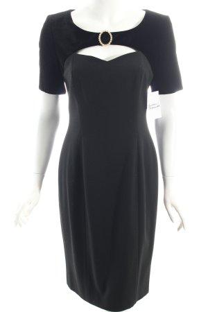 Cocktailkleid schwarz Eleganz-Look