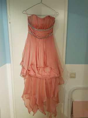 High Low Dress apricot