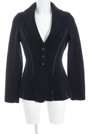 Cocon Wool Blazer black casual look