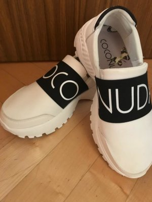 Coconuda Heel Sneakers white-black