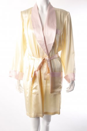 Cocoon robe yellow-pink